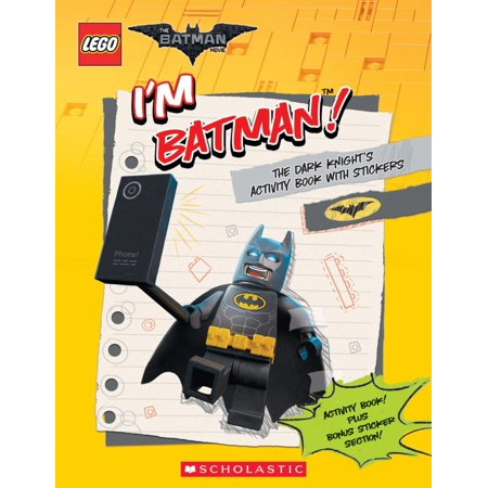 Image of I'm Batman! the Dark Knight's Activity Book with Stickers (the Lego Batman Movie)