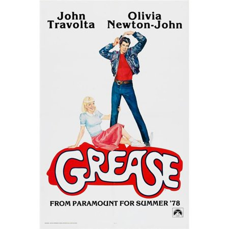 Everett Collection EVCMSDGREAEC040HLARGE Grease US Poster John Travolta Olivia Newton-John 1978 Paramount Pictures & Courtesy Everett Collection Movie Poster Masterprint, 24 x 36 - Large - image 1 de 1