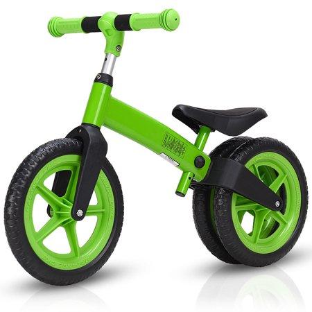 Costway Balance Bike Kids No-Pedal Learn To Ride Pre Bike w/ Adjustable  Seat 3 Wheels