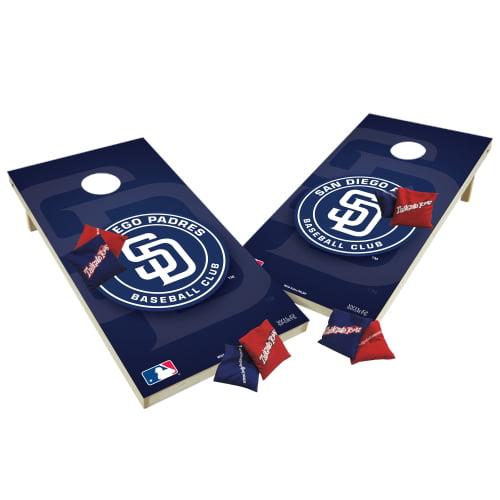 TTXL Shield Design 1MLB San Diego Padres Bean Bag Toss Game