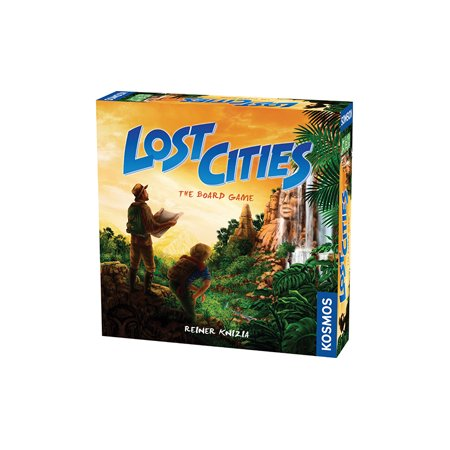 Lost Cities - The Board Game (New York Rangers Last Game)