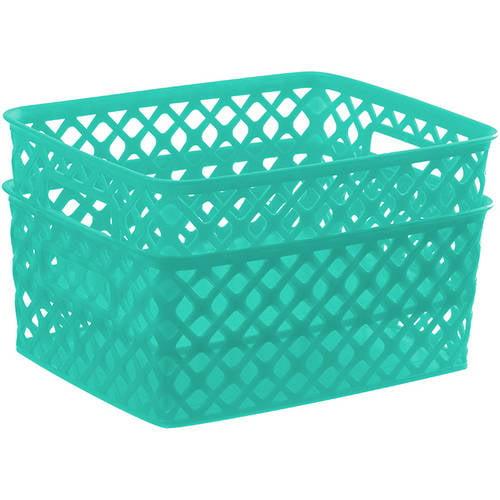 Mainstays Small Deco Basket, 2pk