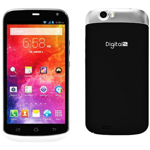 "Digital2 D504P 5"" Touchscreen 4G Quad-Core 16GB Dual-SIM GSM Android Smartphone"
