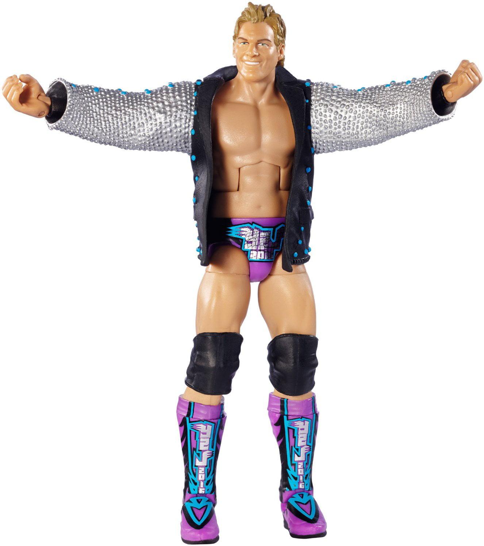 WWE Elite Chris Jericho Figure, USA, Brand Mattel by