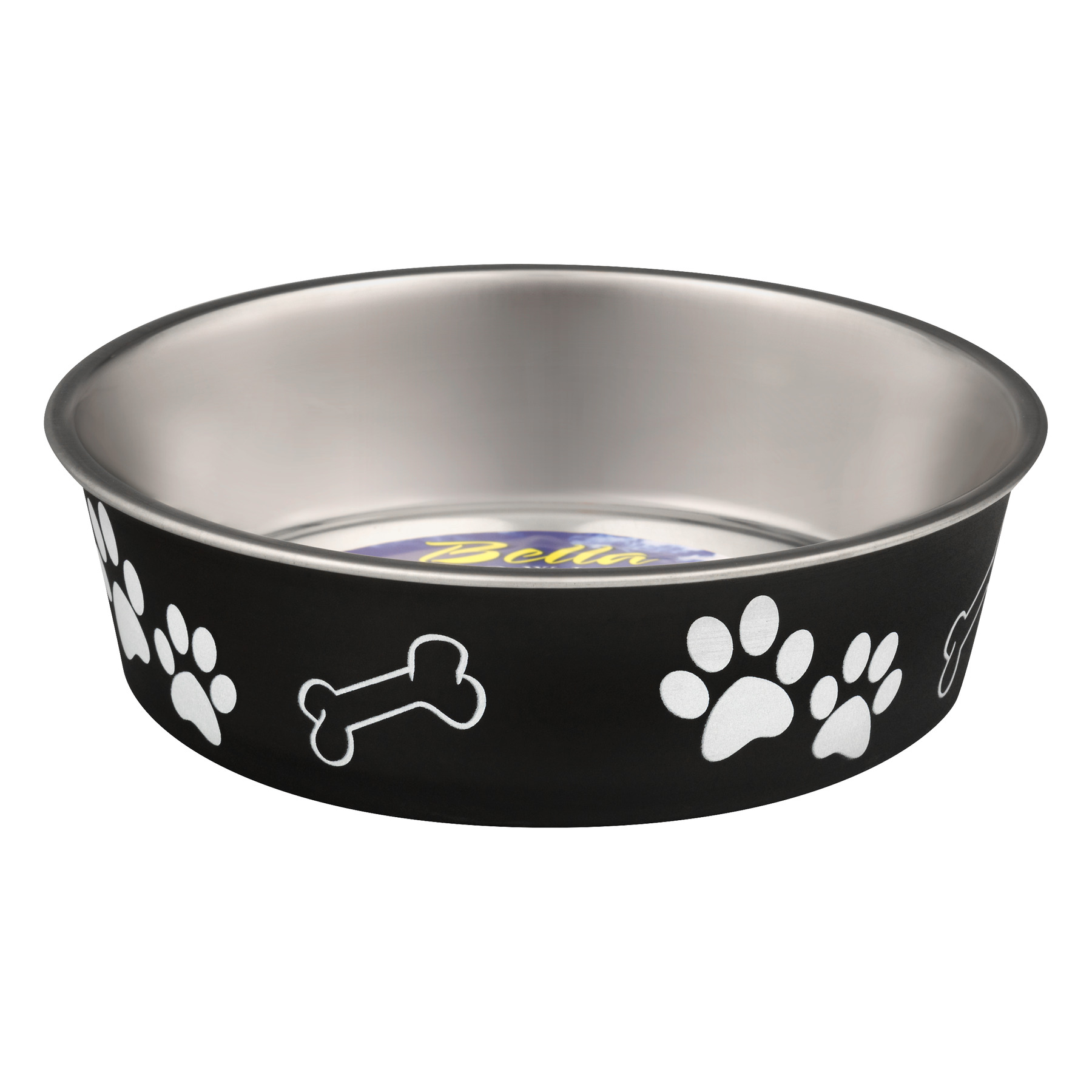 Loving Pets Bella Bowls Medium Espresso, 1.0 CT