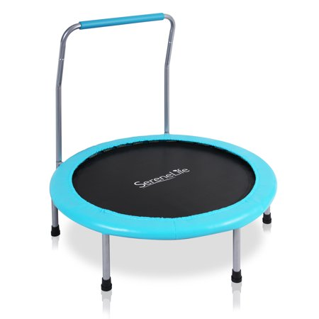 Serene Life Sports Exercise Spring-less Kid Size Trampoline