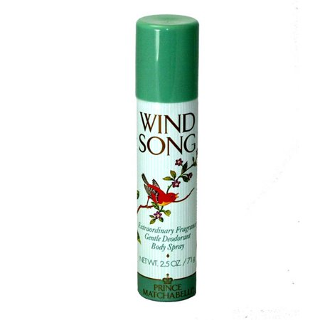 Wind Song Deodorant Body Spray 2 5 Oz   75 Ml