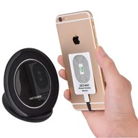 HURRISE Wireless Charging Charger Coil Receiver Portable Qi Standard Smart For Iphone 5 5C 5S 6 6S 6 Plus 6S Plus 7 7 Plus,Wireless Charging Charger Coil Receiver