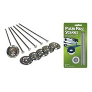 Presto Fit 22001 Camping Mat Anchor - Patio Rug, 6-Pack