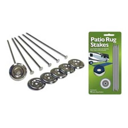 Presto Fit 22001 Camping Mat Anchor - Patio Rug, 6-Pack ()