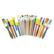 Creativity Street® Starter Paint Brush Set, 25 pcs