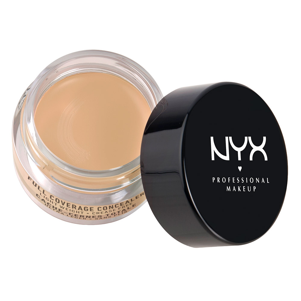 NYX Professional Makeup Full Coverage Concealer Jar Beige - 0.21oz