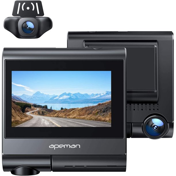 APEMAN 4K Touch Screen Dash Cam