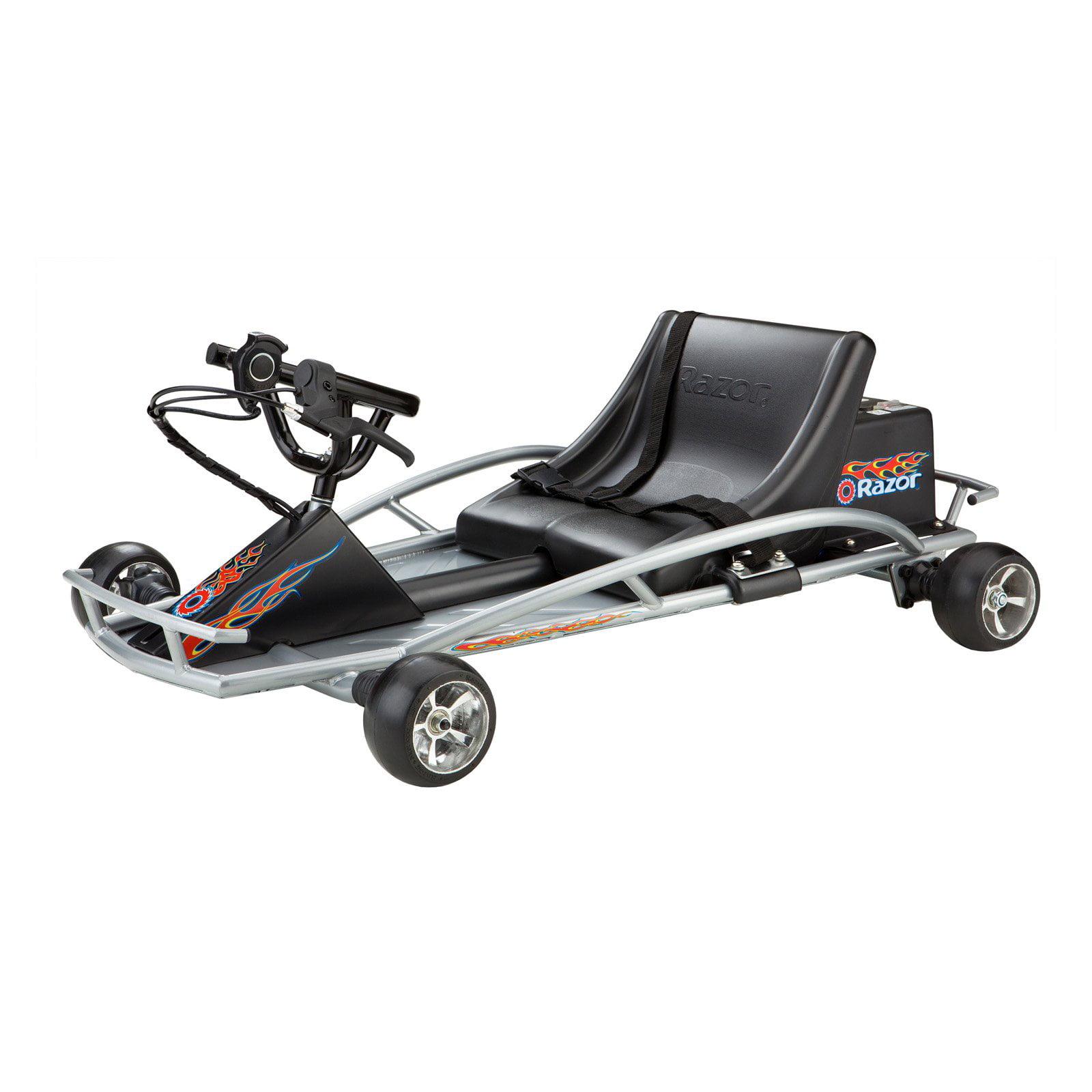 razor ground force electric battery powered go kart walmartcom