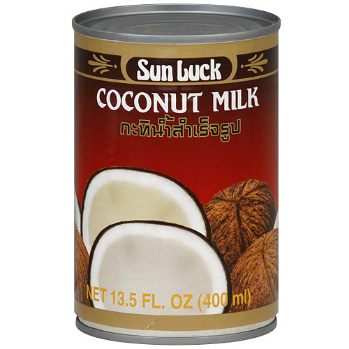 Sun Luck Coconut Milk, 13.5 oz (Pack of 12)