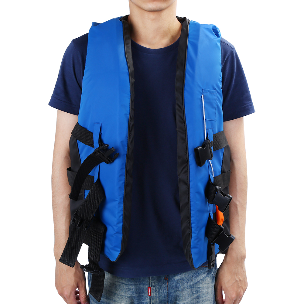 Children and Adult Buoyancy Aid Universal Swimming Boating Kayaking Vest Drifting Ski Vest Life Jacket with Whistle... by EECOO