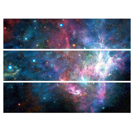 Space Galaxy Edible Frosting Image Strips Cake Decoration for $<!---->