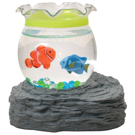Magic mini toy fish aquarium magnetic battery operated toy for Toy fish tank