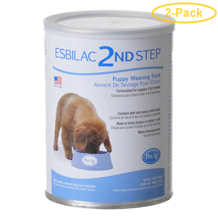 PetAg Weaning Formula for Puppies 1 lb - Pack of