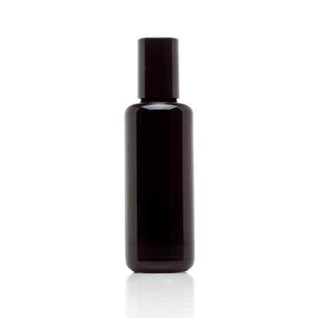 Infinity Jars 50 Ml (1.7 fl oz) 10-PACK Set Black Ultraviolet Glass Bottle w/ Steel Ball Roll on Tip (60g Jar)