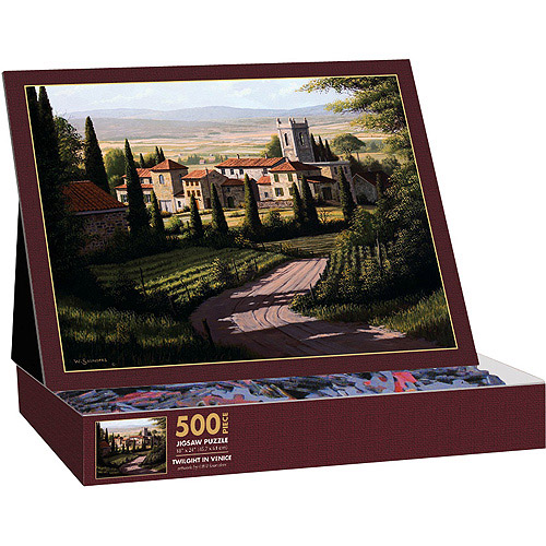 Lang 5037125 Vineyards of Tuscany Jigsaw Puzzle, 500-Piece