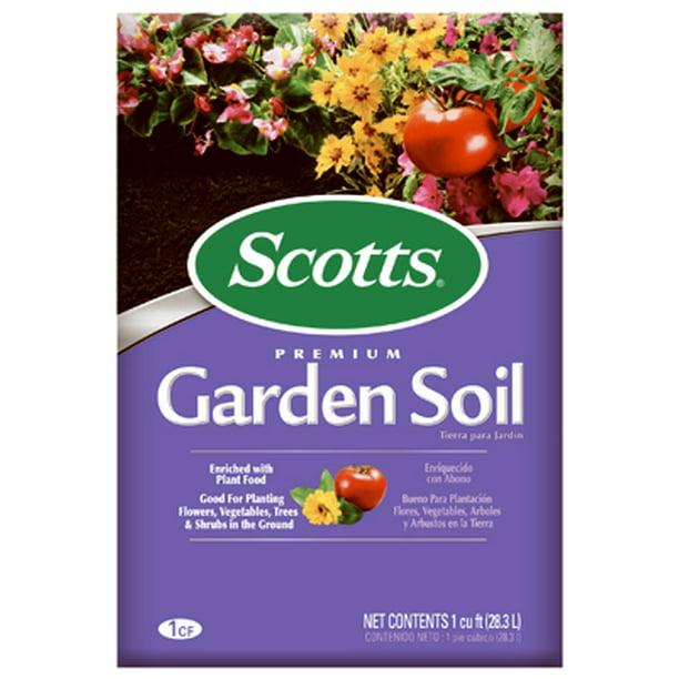 Scotts Organic Group 72251750 Premium Garden Soil 1 Cu Ft