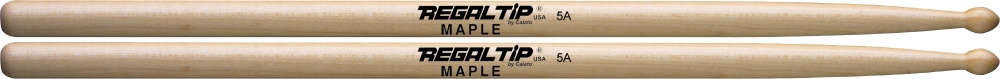 Regal Tip Maple Drumsticks 5A by Regal Tip