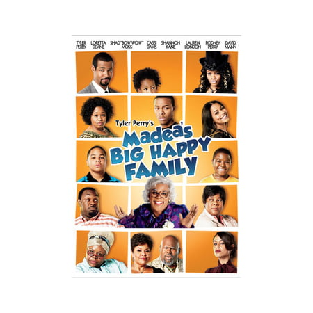 Tyler Perry's Madea's Big Happy Family: The Movie (DVD) (Imdb Family Halloween Movies)