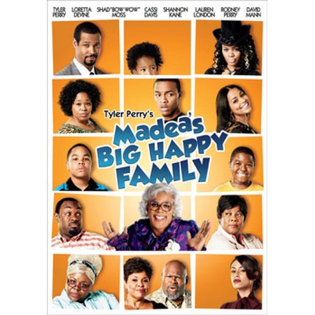 Tyler Perry's Madea's Big Happy Family: The Movie (DVD)