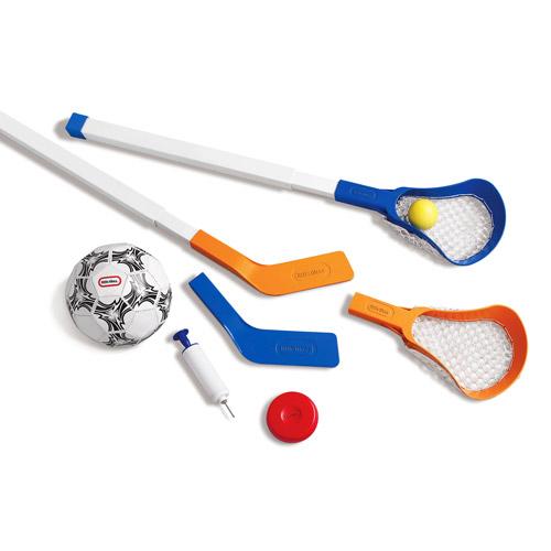 Little Tikes Easy Score Soccer, Hockey and Lacrosse Set