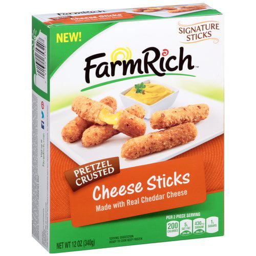 Farm Rich Pretzel Cheddar Cheese Stick