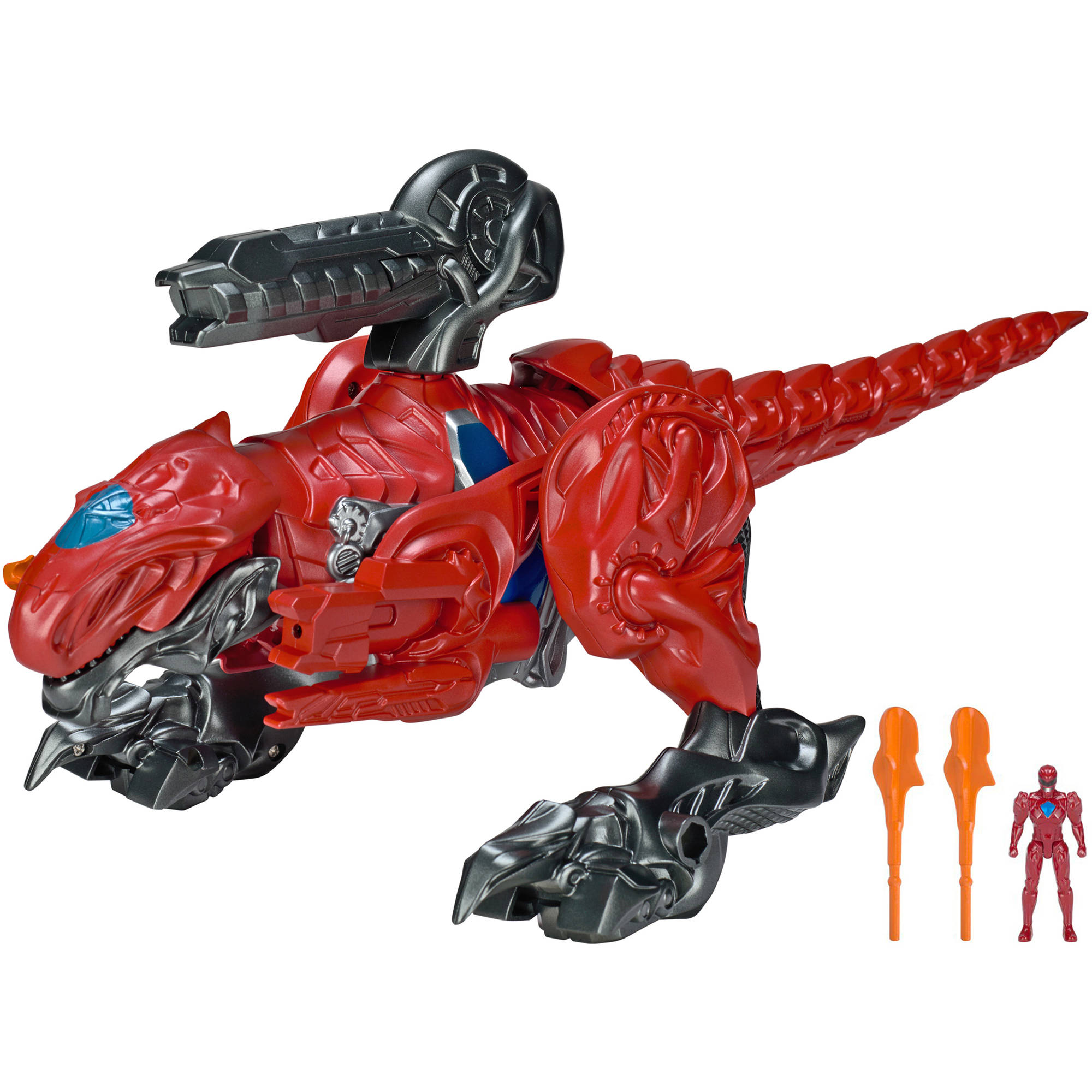 Mighty Morphin Power Rangers Movie T-Rex Epic Battle Zord with Figure by Bandai America, Inc