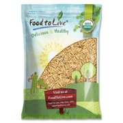 Organic Brown Basmati Rice, 16 Pounds - Raw, Non-GMO, Kosher, Bulk  by Food to Live