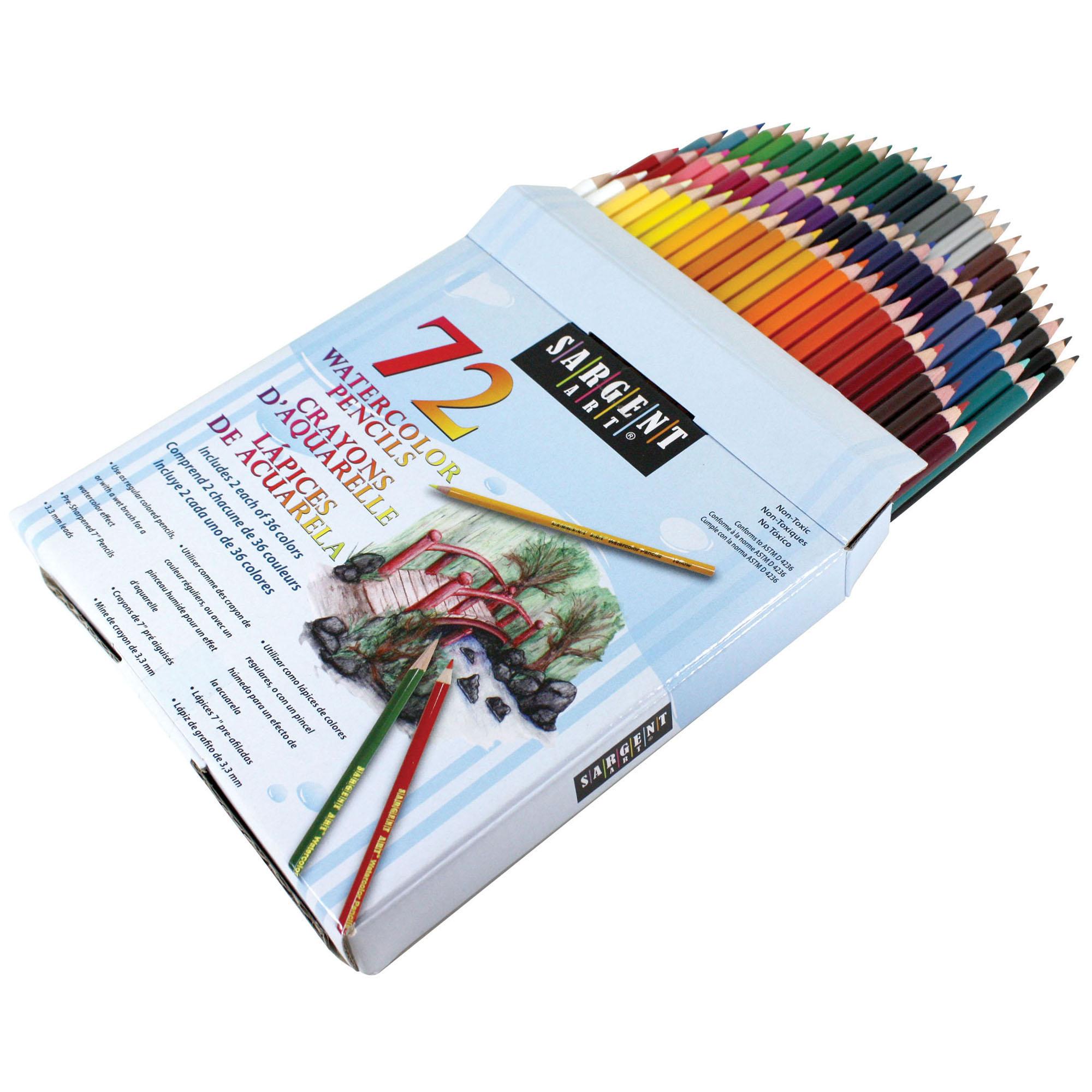 Sargent Art® Colored Pencils, 72 Colors