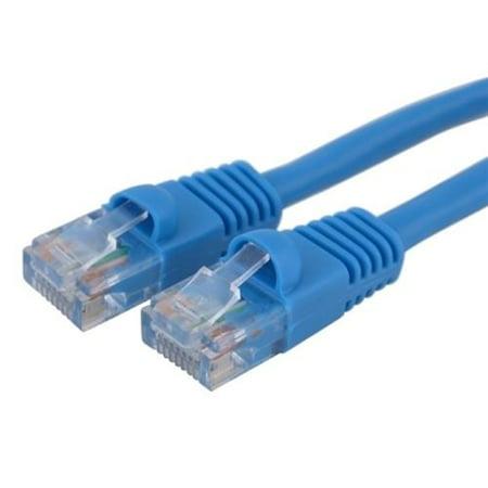 Insten 50' Cat-5E Ethernet LAN Networking Patch Cable RJ45 Blue 50' - Walmart.com