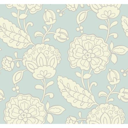 York Wallcoverings EB2057 Candice Olson Vibe Chunky Floral Wallpaper