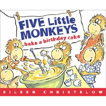 Five Little Monkeys Bake a Birthday - Five Little Monkeys Halloween