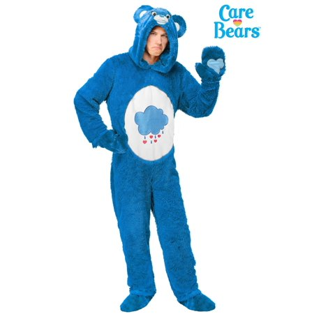 Adult Plus Size Care Bears Classic Grumpy Bear - Grizzly Bear Costumes