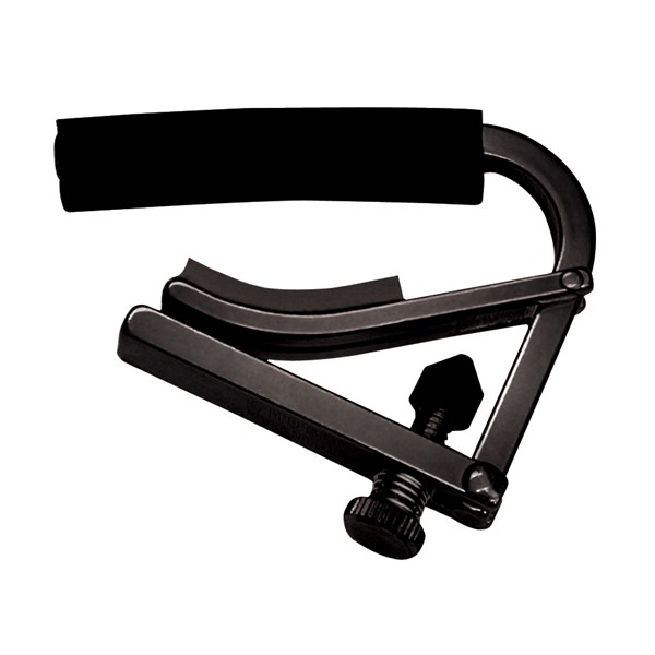 Shubb Original Series Black Nylon String Guitar Capo by Shubb