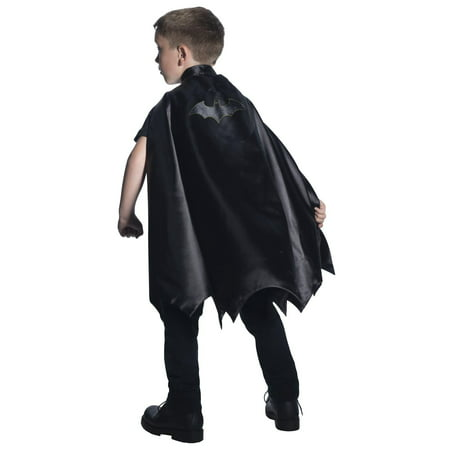 Deluxe Batman Cape For Kids - - Batman Shirt With Cape