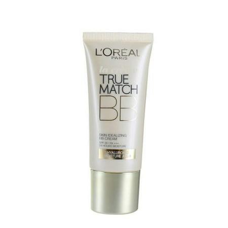 L'Oreal True Match Skin Idealizing BB Cream 30ml-N1 Ivory Brand New