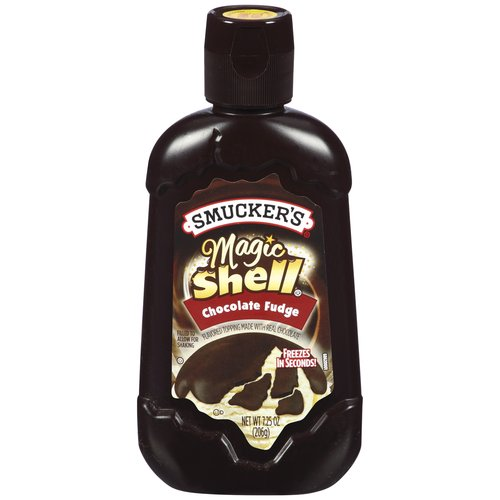 Smucker's Magic Shell Chocolate Fudge Toppings Magic Shell, 7.25 oz