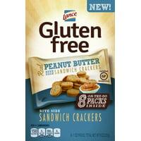 Lance Sandwich Crackers, Gluten Free, Peanut Butter, 1 oz, 8 Count