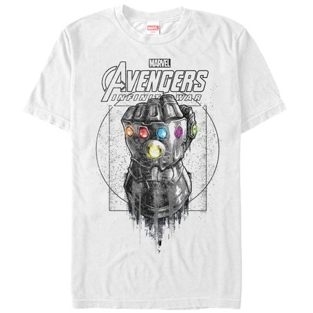 Marvel Men's Avengers: Infinity War Gauntlet Drip T-Shirt - Marvel Suits