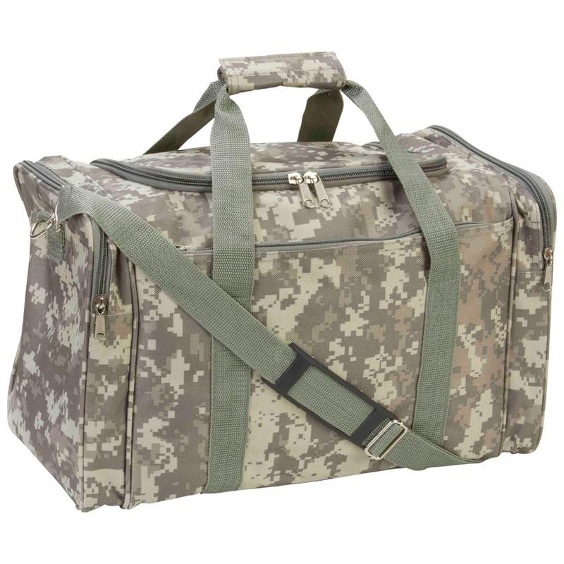 "Extreme Pak Digital Camo Water-Resistant 17"" Duffle Bag by Supplier Generic"