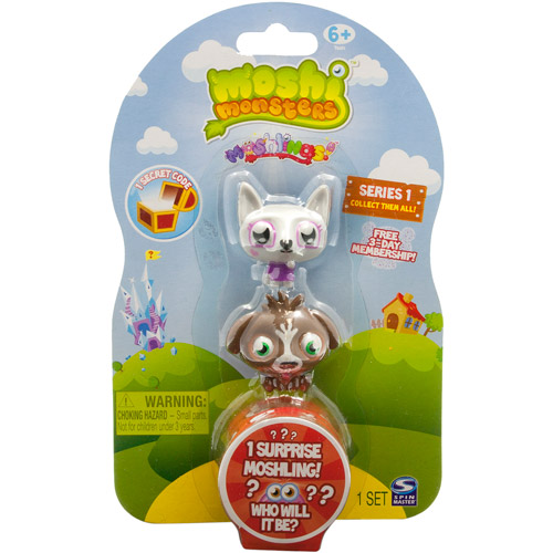 Moshi Monsters Moshling Play Set, Characters Vary, Set of 3
