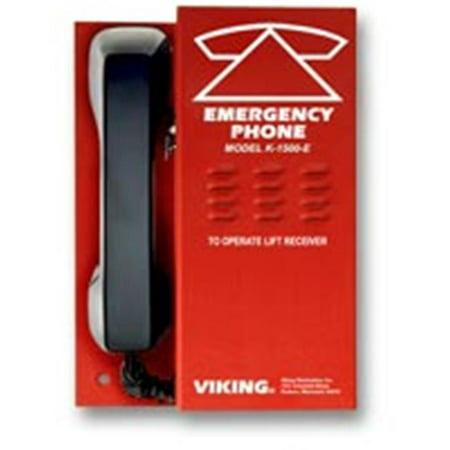 - Viking Electronics K-1500-E Emergency Phones Without Auto Dialing
