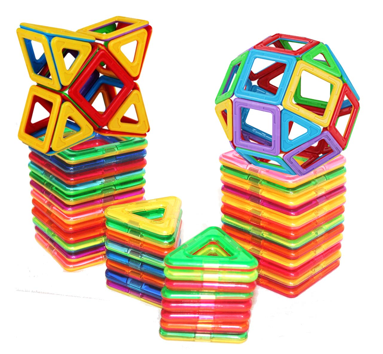 Magnetic Building Building Blocks Set, Magnet Educational Toys Magnetic Blocks Toys Set For Kids and Adult,... by Toygungle