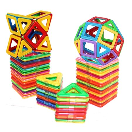 Magnetic Building Building Blocks Set, Magnet Educational Toys Magnetic Blocks Toys Set For Kids and Adult, Non-Toxic Building Toy 3D Puzzle - Building For Kids