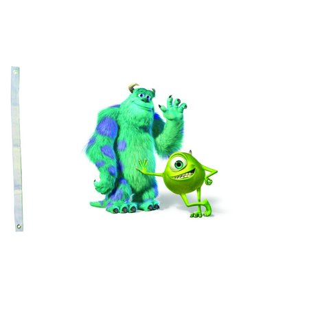 DEYOU Monsters University Flag 3x5 Feet Banner Flag